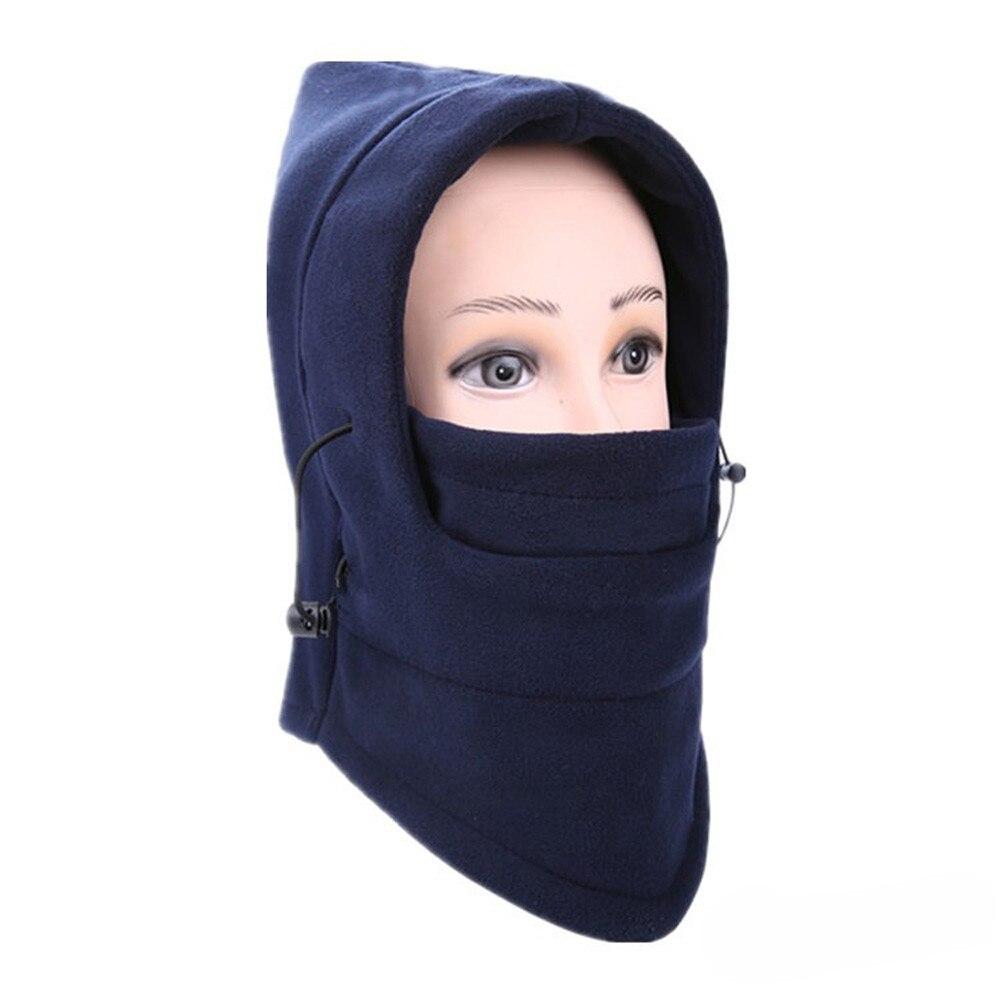 Новинка, 6 в 1, уличные Лыжные маски, велосипедные лыжные шапочки, зимние шапки с защитой от ветра# NE920 - Цвет: D