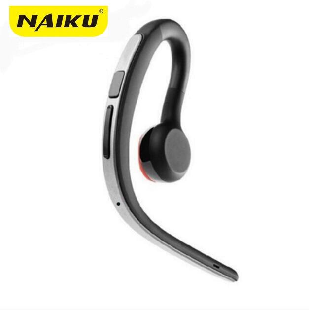 NAIKU Handsfree Affari Bluetooth Cuffia Con Il Mic di Controllo Vocale Auricolare Bluetooth Senza Fili Per Drive Noise Cancelling