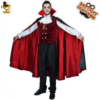 Mens Gothic Vampire Costumes Europe Vampire Adults Man Cosplay Outfit For Halloween Carnival Party Role Play  Costumes - DISCOUNT ITEM  6% OFF All Category