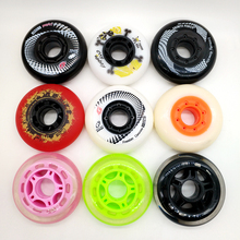 free shipping roller skate wheels 85 A 72 76 78 80 MM PU wheel 8 pcs per lot