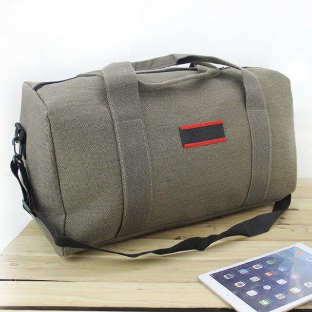 2016 New Fashion Men Women Travel Bags Large Capacity 36-55L Luggage Duffle  Bags Canvas e5e2f62b26