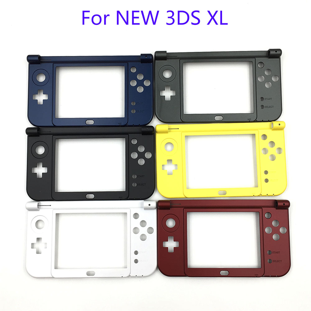 2015 New Verison For Nintendo New 3DS XL Replacement Hinge Part Black Bottom Middle Shell/Housing Case2015 New Verison For Nintendo New 3DS XL Replacement Hinge Part Black Bottom Middle Shell/Housing Case