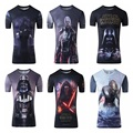 Star Wars Tshirts 2017 New Camisetas Hombre Novelty Men T-Shirt 3D Print shirt Tops O-Neck Short Sleeve Male Funny Tees T Shirt