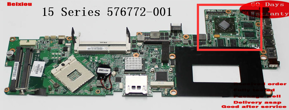 DA0SP7MBCE0 For HP 15 Series 576772-001 DDR3 laptop motherboard 100% original all fully tested