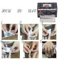 5 шт. для снятия лака воскресение полотенце лак для ногтей пластиковый съемный фототерапии УФ-гель для ухода за ногтями Инструменты