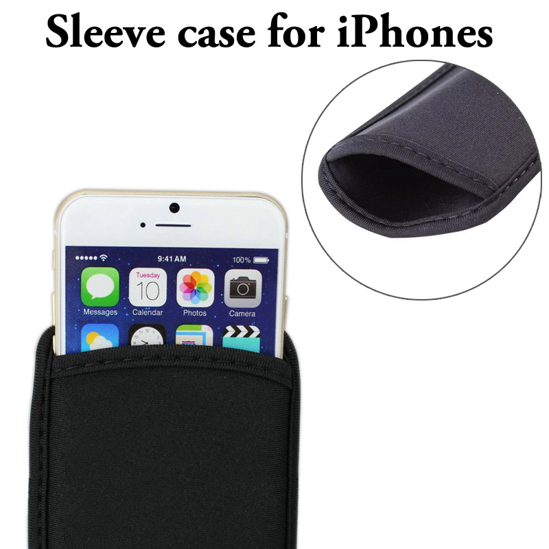 Elastic Neoprene Xs MAX Xr Protective Pouch Bag Sleeve Case Cover For iPhone X 6 7 8 Plus sleeve cases for iphone xr bag