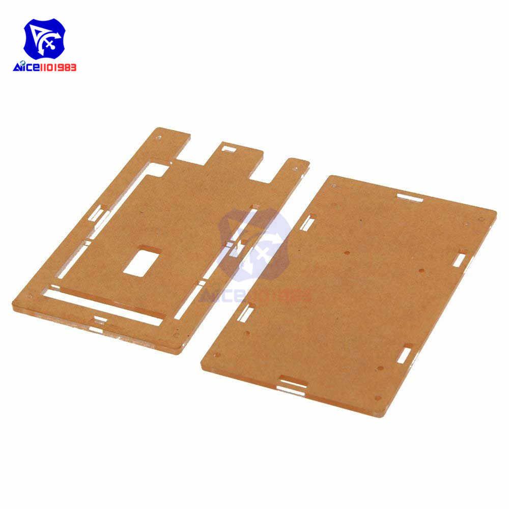 Akrylowe przezroczyste twarda obudowa obudowa do Arduino UNO R3 MEGA 2560 R3 ochronna powłoka etui