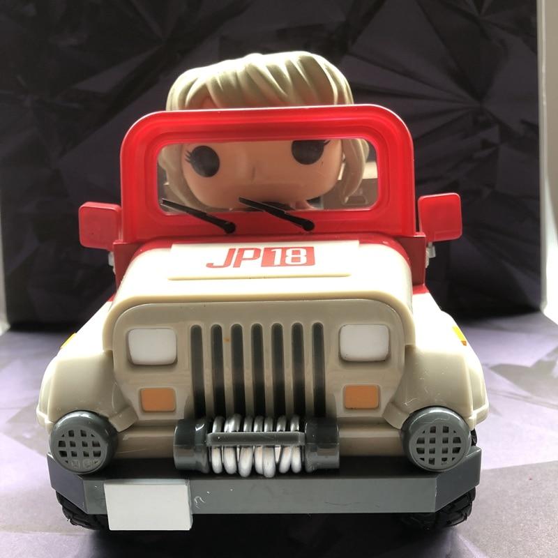 Original Funko pop seconde main film Moments manèges: Jurassic monde-véhicule vinyle figurine à collectionner modèle jouet en vrac