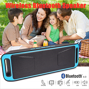 Portable Wireless FM Radio Blu