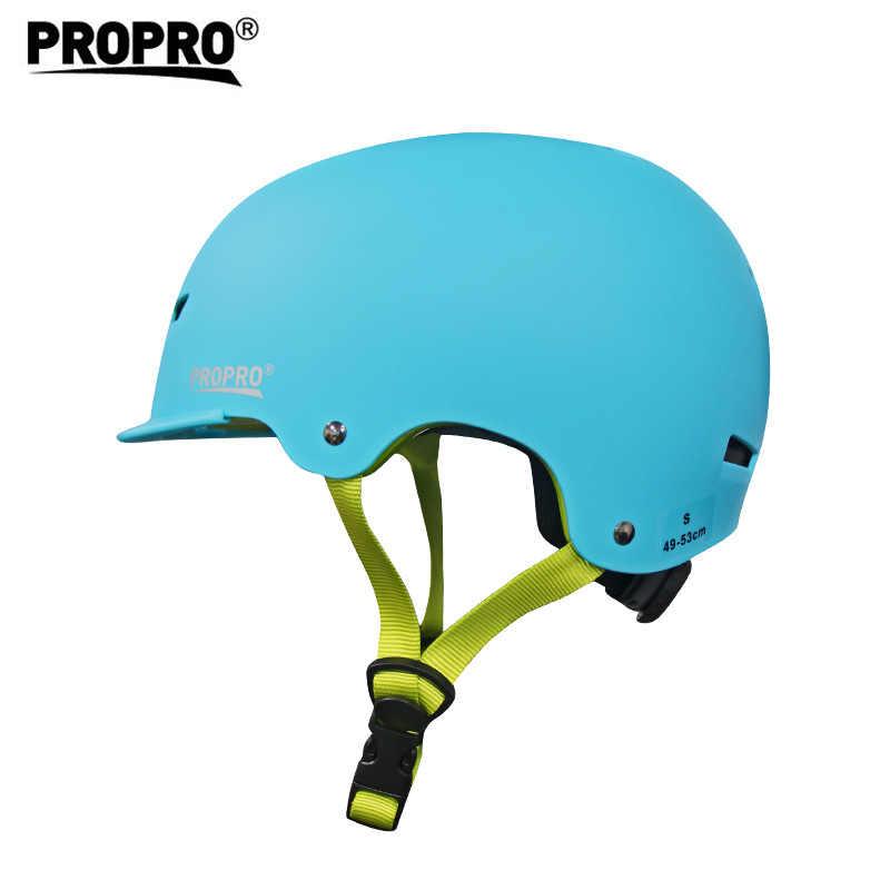 Propro החלקה קסדת ילדים מבוגרים ABS + EPS חיצוני בטיחות קסדת מגיני לנשימה נוח ילדי ספורט סקי קסדה