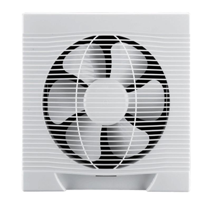 ventilation fan wall mounted window glass small fan extractor exhaust fan bathroom bathroom kitchen fan hole 39cm 39cm