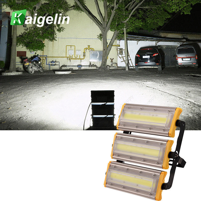 Ultra Bright 50W 100W 150W COB LED Flood Light IP65 Waterproof LED Floodlight Outdoor Lighting LED Spotlight Garden Wall Lamp