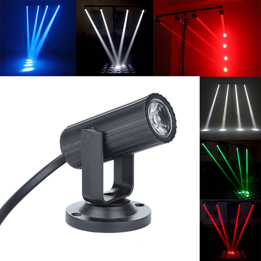 LED Stage Beam Light Mini Wedding Supplies Disco Party Beam Spotlight Disco Light Laser Projector Stage Lamp Smart Dj Equipment-in Stage Lighting Effect from Lights & Lighting on