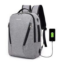 J & Q 2019 nouveau Style de mode antivol sac daffaires sac à dos décontracté personnalisé codé serrure USB chargement intelligent fonctionnel sac à dos