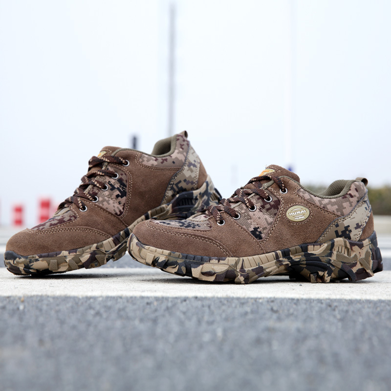 America Sport Army Men s Tactical Boots Desert Outdoor Hiking Genuine leather Boots Military Marine Male