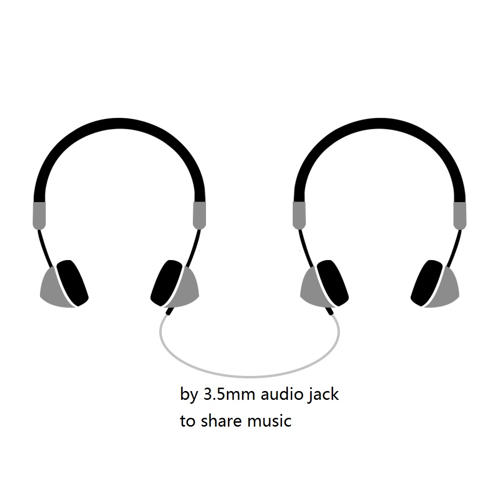 Fashion Rose Gold Wireless Bluetooth Headset Headphone with Microphone Stylish On Ear Share Headphone for Women Girl -9