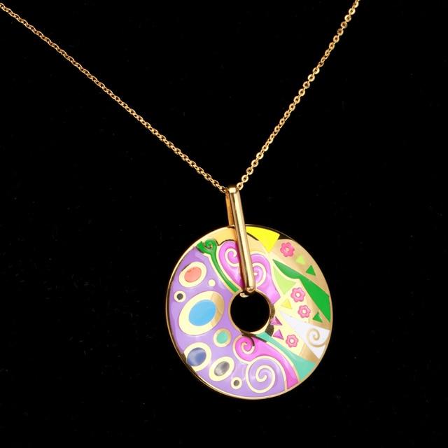 Купить элегантные ювелирные наборы welmag для женщин ожерелье и серьги