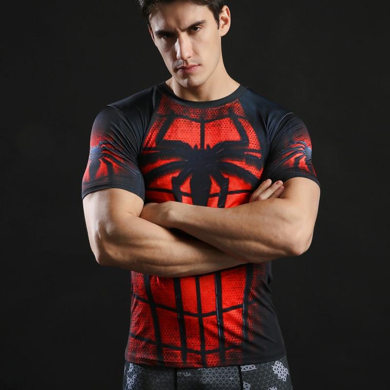Zootop Bear Pánské elastické tričko Spider Man  58a5cdc2c0