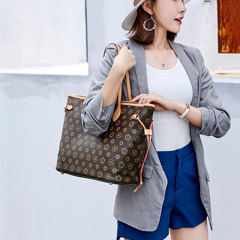 Kobiet torby mody luksusowe torebki ze skóry PU torebka najwyższej jakości torby z uchwytami torba na drobiazgi wysokiej jakości luksusowe torba na ramię w Torby z uchwytem od Bagaże i torby na  Grupa 1