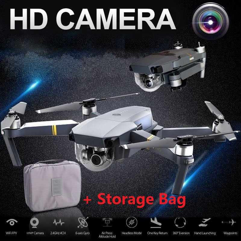lensoul XT-1 headless Mode 2.4GHz 4CH Full HD 1080P camera Drone throwing mode fixed high folding UAV receiving packet