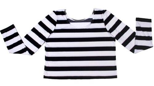 Online Get Cheap Black White Striped Tops -Aliexpress.com ...