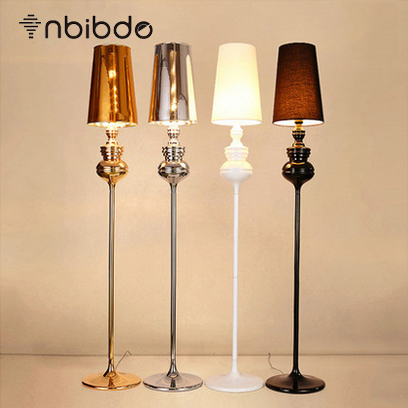 black white gold silver indoor floor lamps modern attractive living room fashional floor lights bedside floor