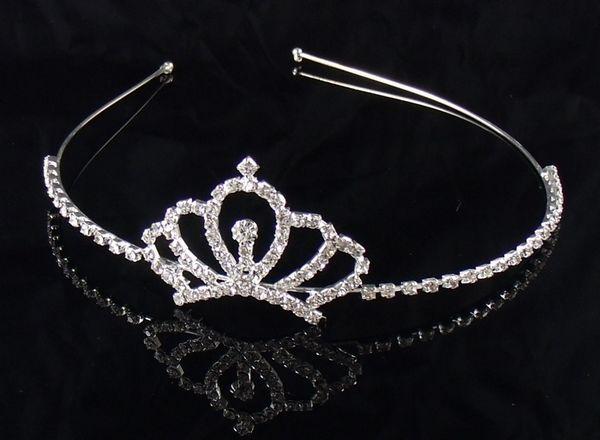 HTB1Xd2ZJVXXXXcFXXXXq6xXFXXXr Dazzling Rhinestone Crystal Girl Princess Headband Tiara - 15 Styles