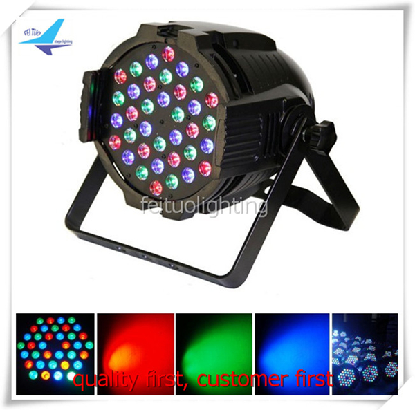 4lot Dmx lighting par led 36x3w led par 64 rgb eurolite led par 64 rgb 36x3w short silver