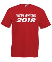 HAPPY NEW YEAR 2018 Funny Xmas Christmas Present Gift Idea Mens Womens T SHIRT T Shirt