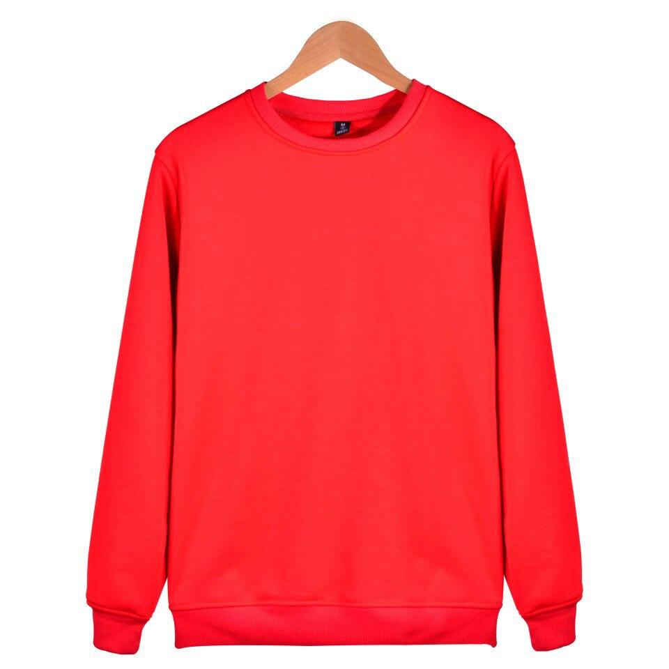 Offen 2018 Aikooki Mode Solide Hoodies Männer/frauen Casual Harajuku Roten Sweatshirt Männer/frauen Feste Pullover Rosa Warme Hoody Kleidung Bettwäsche-sets Mutter & Kinder