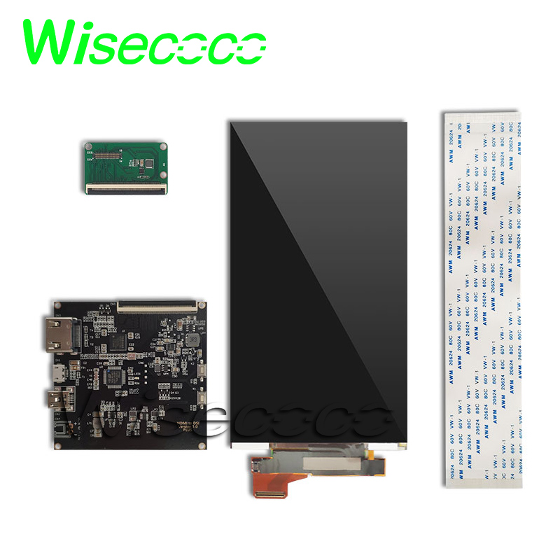 Écran d'affichage de panneau d'affichage à cristaux liquides de 4 K 5.5 pouces avec la carte de contrôleur de pilote de HDMI MIPI pour l'imprimante 3D de DLP/SLA KLD 2160x3840 H546UAN01.0