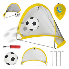 2Pcs Soccer Football Goal Net Kit Set Foldable Training Tent Kids Indoor Outdoor Play Toys MSD-ING