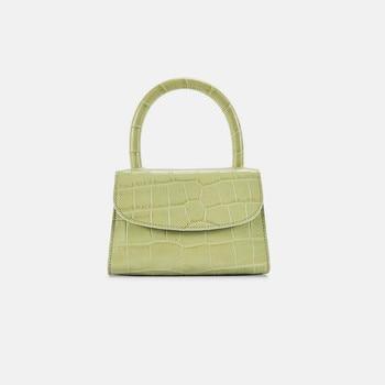 Bolsa Feminina moda cocodrilo Top-handle bolso diseñador mujer bandolera Mini bandolera bolsos para mujer 2019 Sac