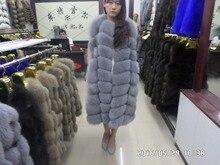 Length 100CM, real natural fur vest