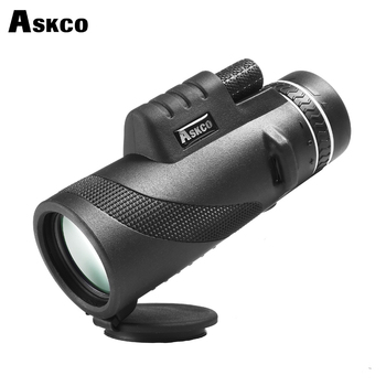 Askco HD Monocular 40x60 Powerful Telescope High Quality Zoom Great Handheld Binoculars Bak4 Prism HD Professional For Hunting image