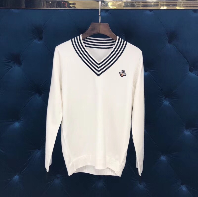 2018 new High Quality fashion Sweaters Runway Summer man Brand Luxury Men's Clothing A07434