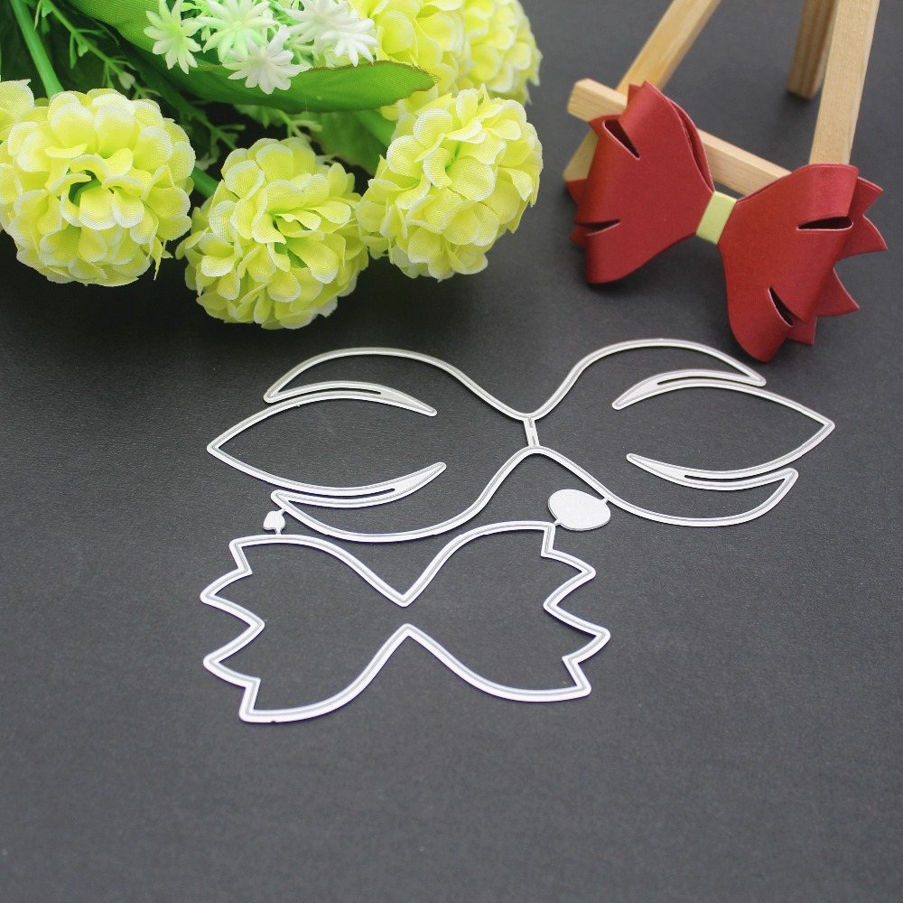 Image 5 - 9 styles 3D Bow Frame Metal Cutting Dies Stencils for DIY Scrapbooking Christmas Greeting Cards Decorative Embossing Template-in Cutting Dies from Home & Garden
