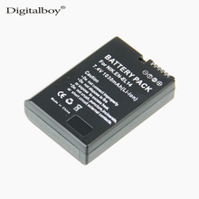 Cheaper Digital Boy 1 PCS EN-EL14 EN EL14 LI-ION digital Camera Battery For Nikon COOLPIX P7000 D3100 D5100 D5200 P7700 P7100 D3200 Z1