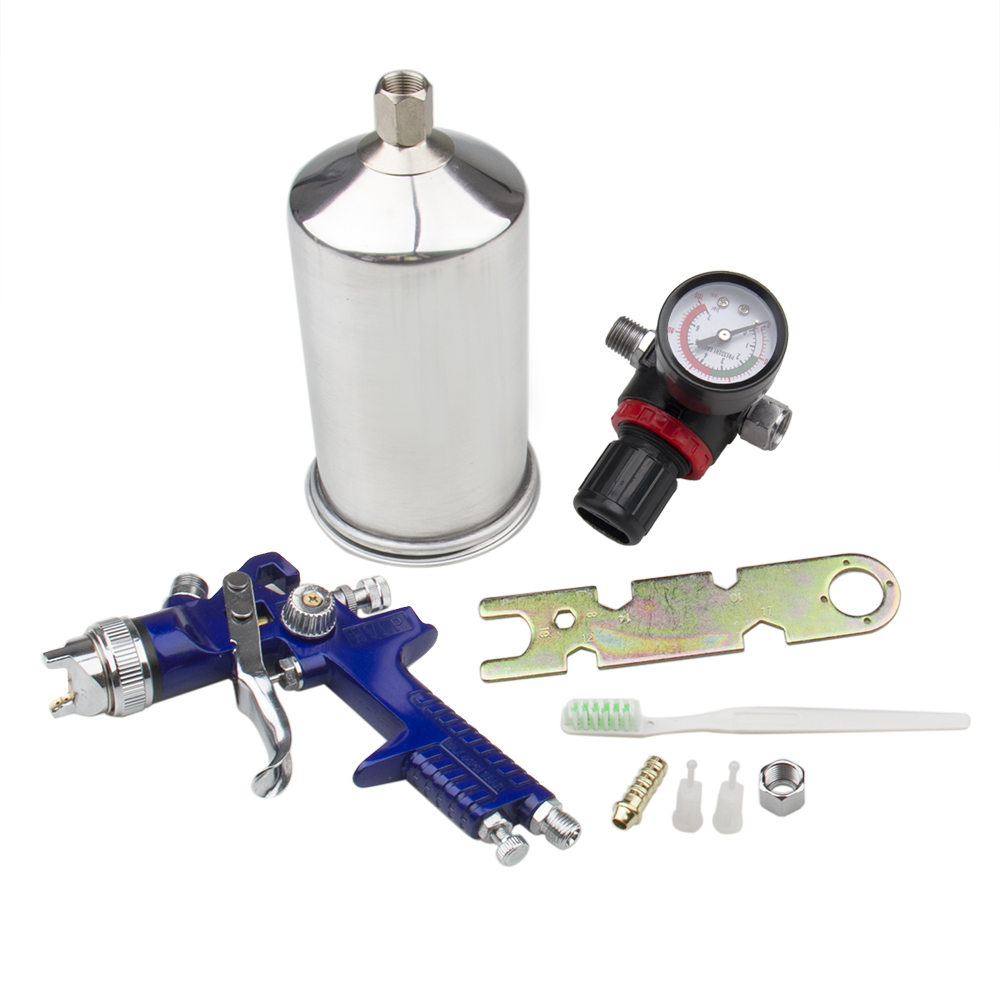 Hvlp Spray Gun Kit >> Us 31 34 5 Off Carbole 2 5mm Hvlp Gravity Feed Spray Gun Kit W Regulator Auto Paint Primer Metal Flake In Polishes From Automobiles Motorcycles On