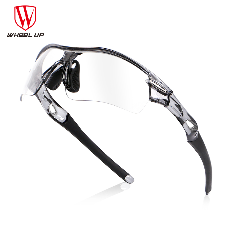 WHEEL UP Photochromic Cycling Goggles Polarized Sports Sunglasses Bike Glasses MTB Mountain Road Bicycle Eyewear Cycling Glasses queshark polarized cycling sunglasses mountain road bike glasses riding bicycle goggles hiking sports eyewear with myopia frame