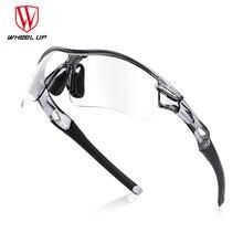 WHEEL UP Photochromic Cycling Goggles Polarized Sports Sunglasses Bike Glasses MTB Mountain Road Bicycle Eyewear