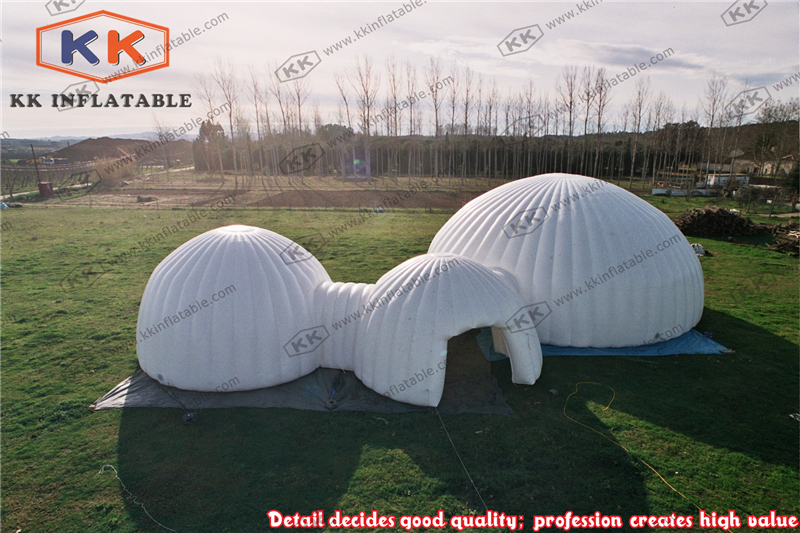durable inflatable dome combo tents