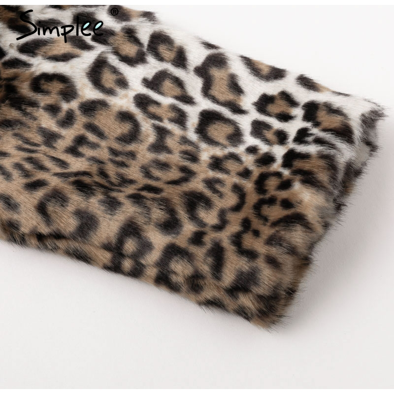 Leopard Furry Faux Fur
