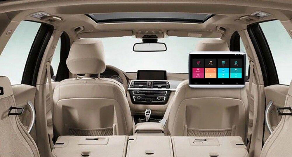 6,0 дюймов 1080*1920 сенсорный экран 2 Гб 16 Гб автомобильный android 12,5 подголовник монитор с bluetooth 1 способ AV out, 1 способ AV in. Выход HDMI