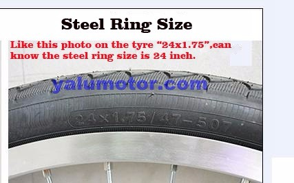 steel rings size WP