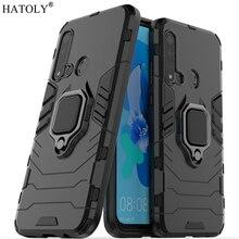 Huawei P20 Lite 2019 Case Cover Finger Ring Phone Hard PC Shell Armor for