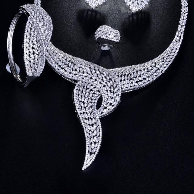 Купить женский комплект ювелирных изделий be 8 2018 набор из фианита