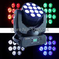 12pcs 10W 4 In 1 Cree RGBW Led Beam Moving Head Light