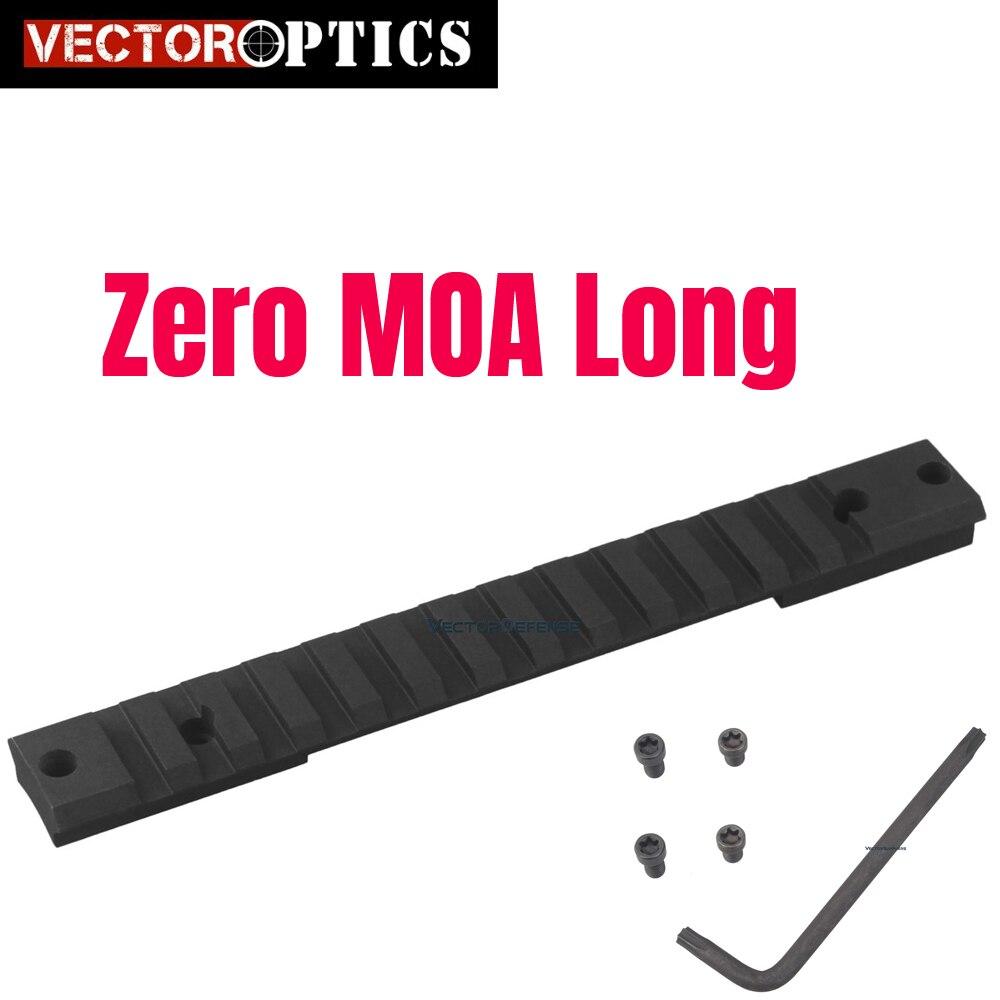 Vecteur optique Remington 700 acier Picatinny Rail Mount longue Action tactique Fit Rem 700 Ruger 10/22 brunissage x-bolt récepteur