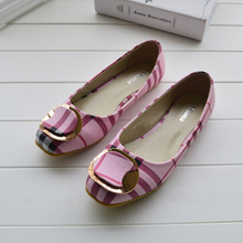 Guixianglai 2018 Korean New Fashion Spring Women Flats Shoes Ladies Bow Square Toe Slip-On Flat Women's Shoes Plus Size 35-42